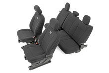 Ford Neoprene Seat Covers | Black [15-18 F-150]