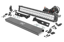 Jeep 20IN LED Bumper Kit (11-19 WK2 Grand Cherokee)(Chrome Series w/ White DRL)