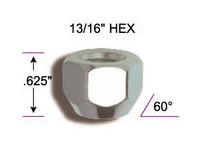"""1/2"""" X 20 Acorn Lug Nut"""