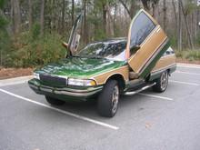 Vertical Doors 1991-1996 Buick Roadmaster Bolt on Lambo Door Kit