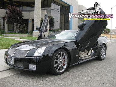 Image 1 & Vertical Doors 2004-2009 CADILLAC XLR Bolt on Lambo Door Kit