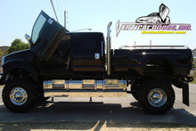 Vertical Doors 2006-2008 FORD F-650 Bolt on Lambo Door Kit