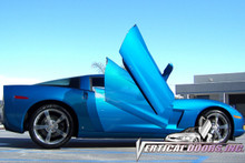 "Vertical Doors 2005-2009 CHEVY CORVETTE ""C-6"" Bolt on Lambo Door Kit"