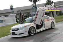 Vertical Doors 2007-UP SATURN AURA Bolt on Lambo Door Kit (4 Doors)
