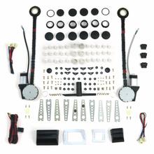 Autoloc Universal Power Window Kit w/Switches