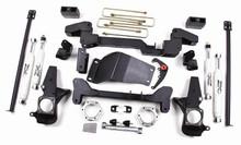 "01-10 Chevy/GMC Silverado/Sierra 2500HD 4WD 6"" Lift Kit w/Nitro Shocks"