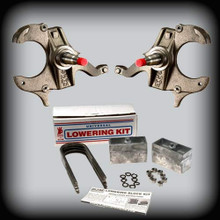 """1982-2004 S10 & SONOMA 2""""F. Spindles - 3""""R LOWERING KIT"""