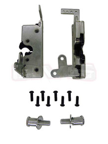 Large Heavy Duty Dual Claw Door Latches w/Striker Bolts (PAIR)