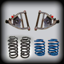 "63-72 C-10,5""Front,5""Rear, Lowering Kit w/Control Arms,Springs,Shims"