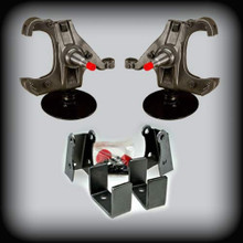 "73-87 C-10 3"" Front Lowering Spindles  5"" Rear Flip Kit W/ 1"" Rotors"