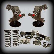 "92-99 C-3500 5"" Front 7"" Rear Flip Kit ( 8 Lugs Only )"