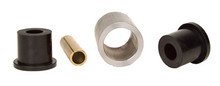 4 Link Weld On Bar Ends,2x2 OD, 1/4 wall w/bushing and Sleeve,1/2 bolt