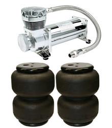 Viair 480c and 2 dominator air bag air suspension kit.
