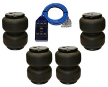 4 air bags and switch box package deal