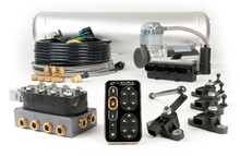 Single Compressor E-Level Air Management Package w/ Touchpad