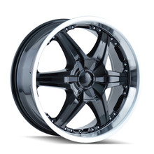 DIP D39 Wicked Black/Machined 26x9.5 5-120.65/5-127 18mm 78.3mm