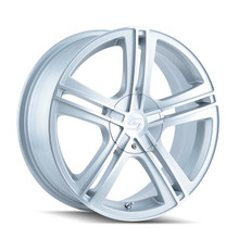 Sacchi 262 Hypersilver/Machined Face 18x7.5 5-100/5-114.3 40mm 72.62mm
