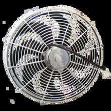 """Zirgo 14"""" 2122CFM Chrome  Radiator Cooling Fan"""