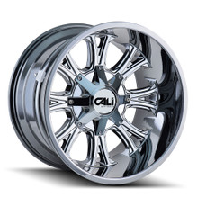 Cali Off-Road Americana PVD2 Chrome 20X9 8-180 18mm 124.1mm