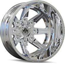 Mayhem 8101 Monstir Rear Chrome 20x8.25 8x165.1 -160mm 116.7