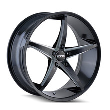 Touren TR70 Black Milled Spokes 20x8.5 5-112 +30mm 66.56