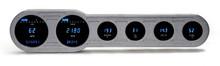 "Universal 6 Gauge (4"" x 18"") Universal Side Street Rod Digital Instrument System"