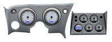 1968-77 Chevy Corvette VHX Instruments w/ Digital Clock