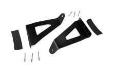 Ford F150 54 Inch Curved Light Bar Upper Windshield Mount