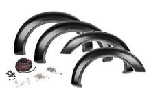 09-15 Dodge Ram 1500 w/Metal Bumper Pocket Fender Flares w/Rivets