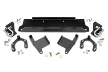 07-15 Jeep JK Wrangler/Wrangler Unlimited Winch Mounting Plate w/D-Rings