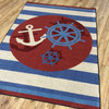 Nautical rugs that look great and last a long time.