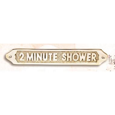 Shower Plaque