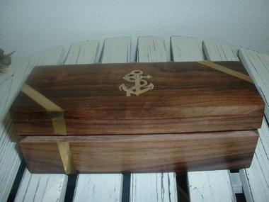 Nautical Wood Pen / Cigar / Gift Box