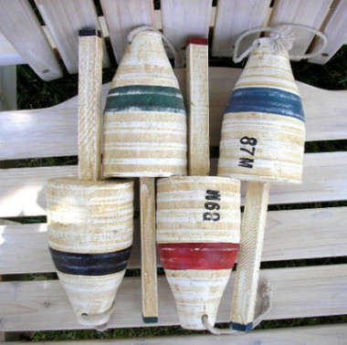 11 Inch Wooden Fishing Floats