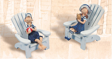 Sailor Kids on Chair Decoration