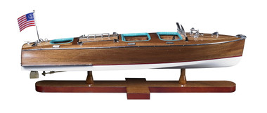 Triple Cockpit Runabout Model Speed Boat