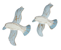 Hanging Seagulls for Beach Decor
