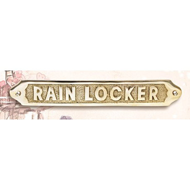 Rain Locker Brass