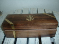 Nautical Wood Pen / Cigar / Gift Box