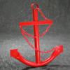 """24"""" Red Navy Ship Anchor"""