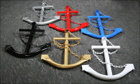 Classic Navy Anchor in Multiple Colors