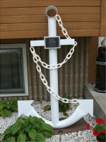 "Knock Down 68"" Steel Ship Anchor"