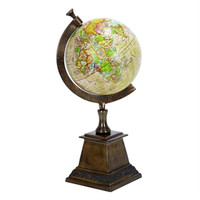 Aluminum Globe with Stand