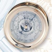 Brass Captains German Made Barometer