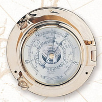 Nautical Brass Porthole German Barometers