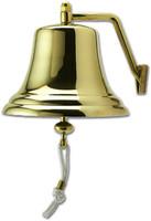 8 Inch Certified Brass Ships Bell