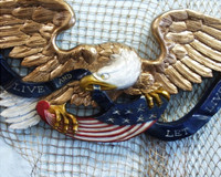 Transom American Eagle Live and Let Live