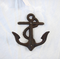 Cast Iron Fouled Anchor Hooks