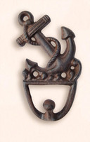 Cast Iron Fouled Anchor Utility Hook