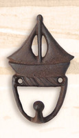 Cast Iron Sailboat Utility Hook